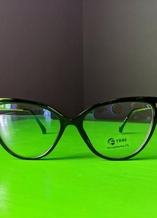Женские очки кошачий глаз (cat yye) 2021