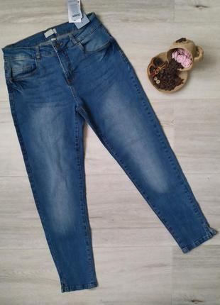 Стильные голубые женские джинсы blue motion размер 38-40