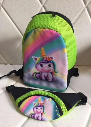 Рюкзак с единорогом для девочек