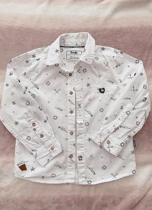Рубашка на мальчика 5г