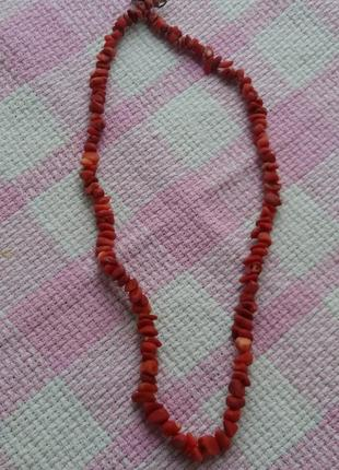 Ожерелье/бусы натуральный камень