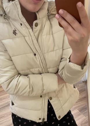 Куртка uspa (u.s. polo assn) м молочный