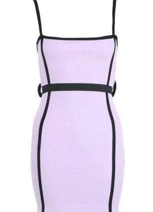 Летнее платье фиолет