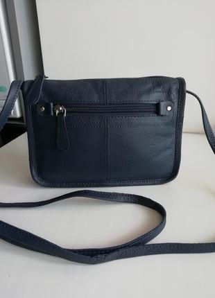 Нова фірмова шкіряна англійська сумочка кросбоді hotter!!! оригінал!!!