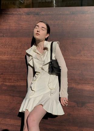 Компект платье h&m и шелковая блуза винтаж