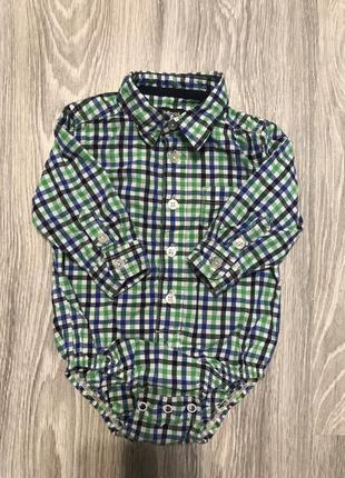 Боди-рубашка на мальчика