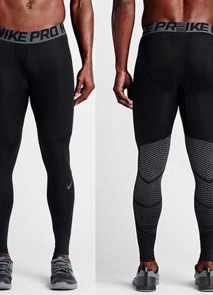 Лосины nike pro dri fit hypercool tight  мужские лосины спортивные для бега