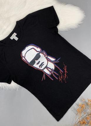 Женская футболка karl lagerfeld for h&m