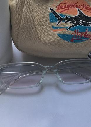 Прозрачные очки ❤️🩹