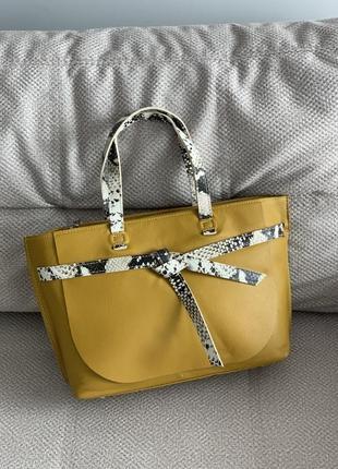Новая итальянская кожаная сумка