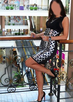 Красивая, роскошная юбка карандаш с паетками fb sister