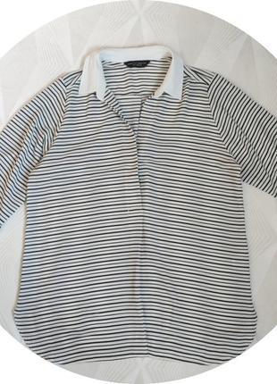 Блуза в полоску dorothy perkins.