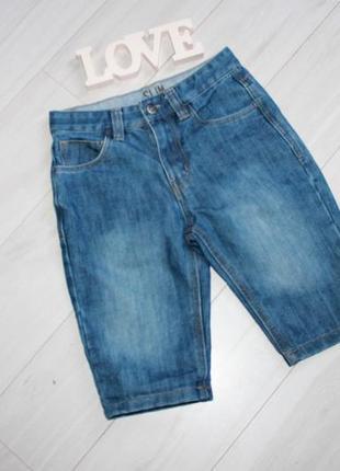 Шорты джинс на 8-9 лет