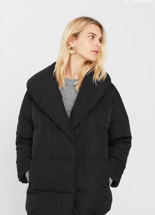 Новый пуховик/куртка mango