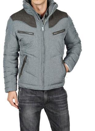 Пуховик,куртка осень, зима мужской 13 зима аутентичные дизель/дисайд мужские шерстяные плеча slim fit стенд воротник куртки пальто diesel 93243