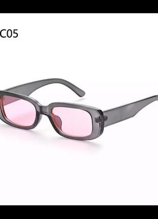Очки gray-pink