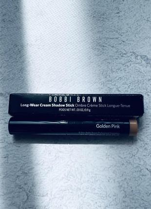 Bobbi brown long-wear cream shadow stick стойкие тени в карандаше