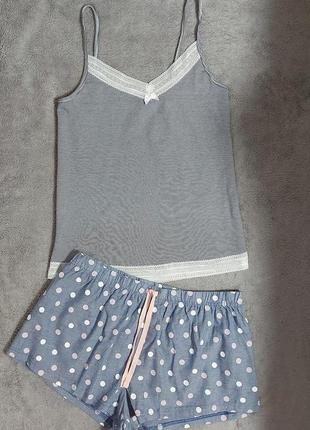 Фирменная пижамка или костюмчик для дома 12-14 размер, евро 40-42