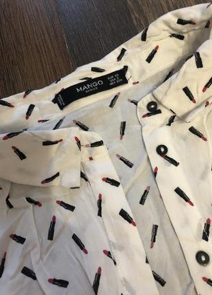 Рубашка с помадами