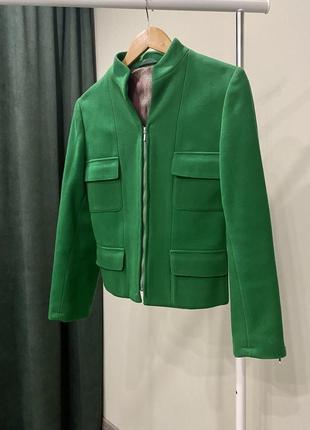 Шерстяной пиджак
