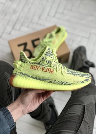 Adidas yeezy boost 350 🍏 стильные женские мужские кроссовки адидас изи 350