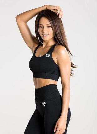 Спортивный бюстгальтер топ топик women's bra с низкой и средней поддержкой  размер м