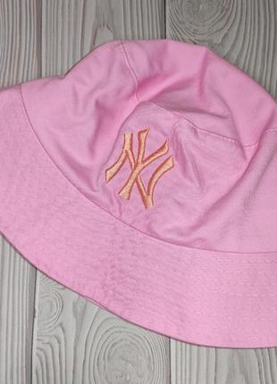 Панама панамка розовая женская
