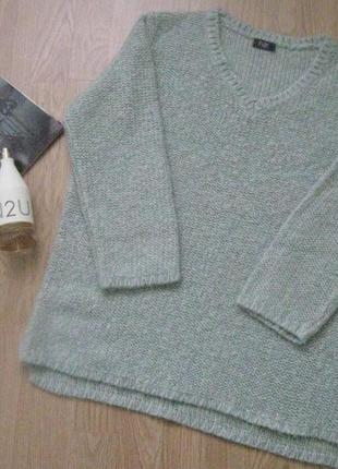 Кофта свитер джемпер вязаный очень теплый