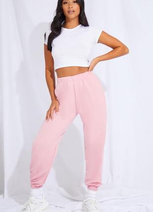 Штани джогери спортивні штани рожеві бузкові