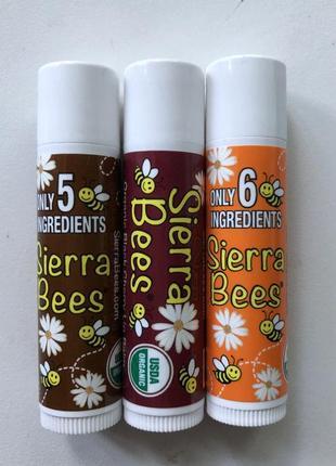 Органический  бальзам для губ от sierra bees