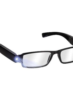 Очки с подсветкой multi strength led reading glasse