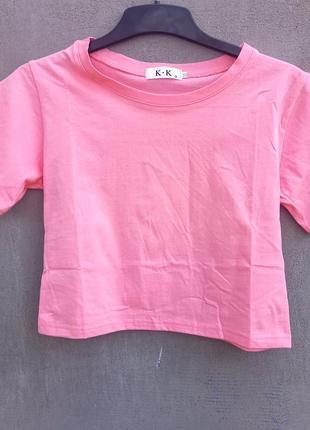 Короткая футболка/коротка футболка