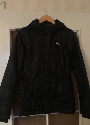 Осенняя оригинальная куртка puma!