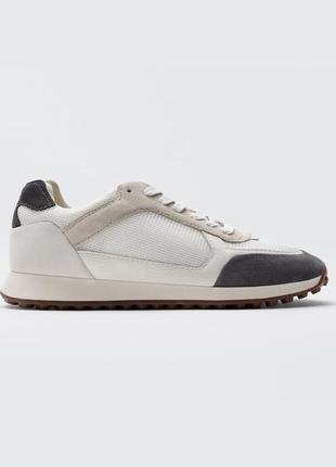 Кожаные кроссовки кеды от massimo dutti оригинал новые 2021