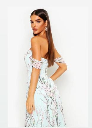 Новое платье в пол 💚boohoo размер м