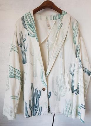Натуральный летний пиджак
