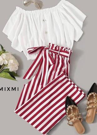 Костюм блуза+штаны