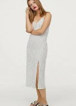 Новое платье, сарафан h&m из натуральной ткани.1 фото