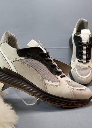 Кожаные женские кроссовки от ecco р. 37,38