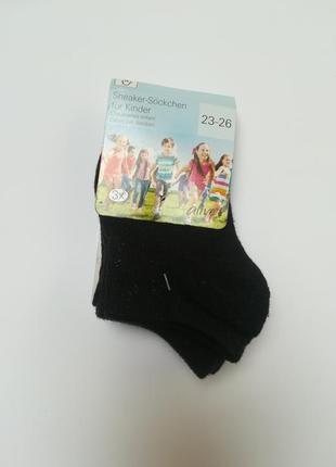 Набір 3-ох чорних носочків alive 23-26 розмір.