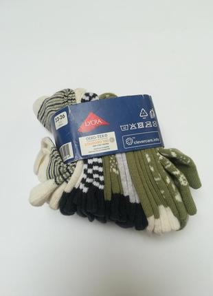 Набір бавовняних носочків 7 шт. lupilu 23-26 розмір.