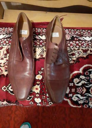 Туфли кожаные pat calvin