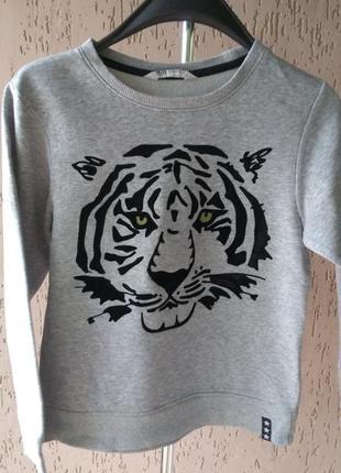 Утепленная кофта свитер джемпер свитшот