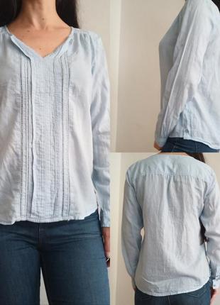 Лёгкая хлопковая блуза