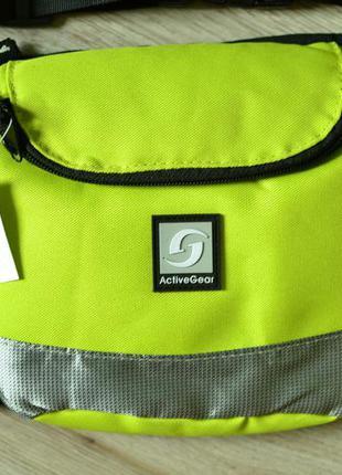 Поясна сумка activegear (поясная спортивная сумка для вело, бега, велосумка)