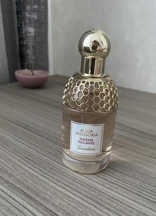 Духи guerlain aqua allegoria,ginger piccante 75 мл