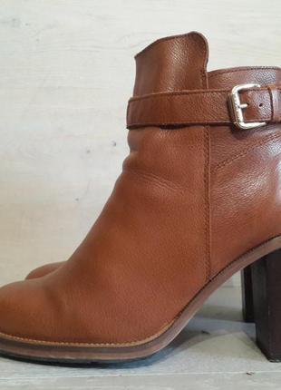 Tommy hilfiger. кожаные ботинки