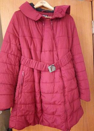 Зимняя куртка для беременных юла мамс