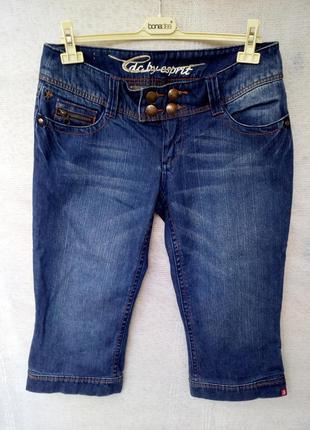 Edc by esprit оригинал мужские шорты бриджи капри джинс р 40 цвет синий