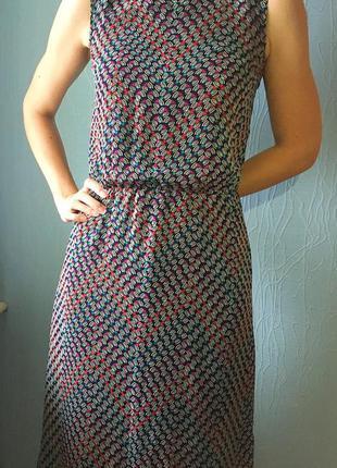 Платье incity с узором до колен